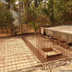 VKL-Gardens-Sreekariyam-Ramp-steel-works-in-progress-1