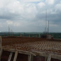 VKL-Gardens-Sreekariyam-Water-Tank-Steel-work-in-Progress