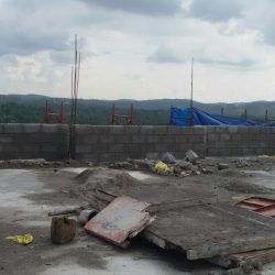 VKL-Gardens-Tower-A-Sreekariyam-Terrace-Parapet-Block-Work-in-Progress
