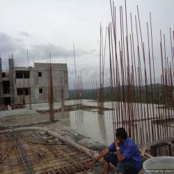 VKL-Gardens-Tower-B-Sreekariyam-9th-floor-slab-casted