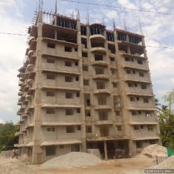 VKL-Santhi-Homes-Santhigiri-7th-floor-plastering-works-completed