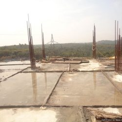 VKL-Santhi-Homes-Santhigiri-9th-floor-slab-casted-1