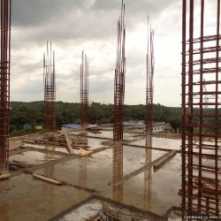VKL-Santhi-Homes-Santhigiri-9th-floor-slab-casted-11