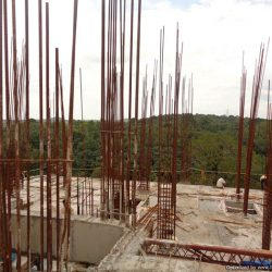 VKL-Santhi-Homes-Santhigiri-9th-floor-slab-casted