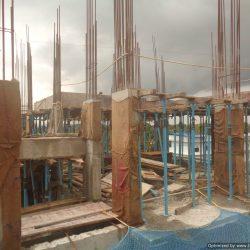 VKL-Santhi-Homes-Santhigiri-Pothencode-7th-floor-Shuttering-work-in-progress-01