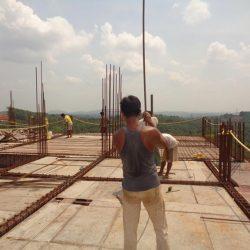 VKL-Santhi-Homes-Santhigiri-10th-floor-shuttering-work-in-progress-1