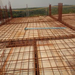VKL-Santhi-Homes-Santhigiri-10th-floor-steel-work-in-progress