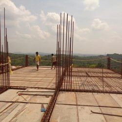 VKL-Santhi-Homes-Santhigiri-structural-work-in-progress